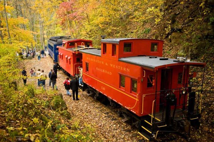 Wilmington & Western Railroad Fall Foliage Ride