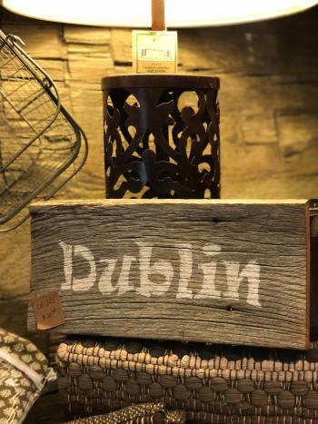 The Morgan House Dublin Sign