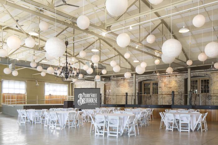 prairie street brewhouse interior