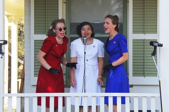 WWII Days singers