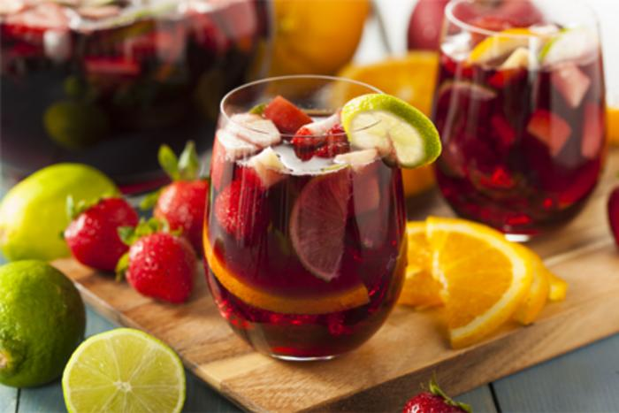 Sangria cocktails in Chicago