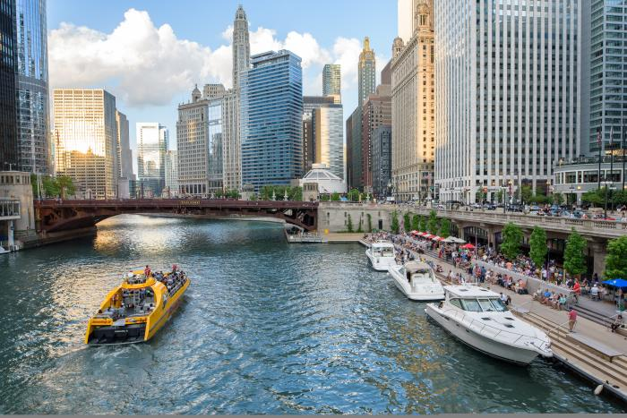 Chicago Riverwalk ©Ranvestel Photographic