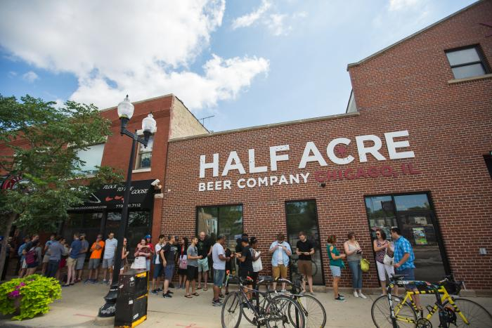 Half Acre Beer Company Chicago