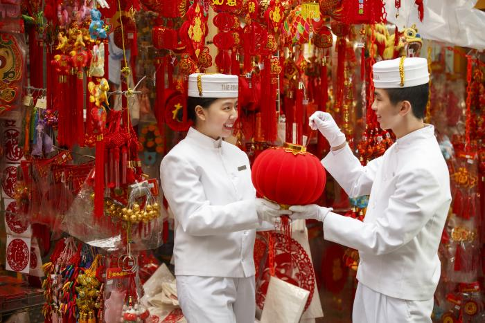Chinese New Year at the Peninsula Hotel, Chicago