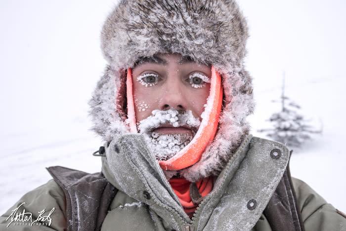 Solstice at 40 Below Zero - Nathan Belz Photography - Fairbanks Alaska