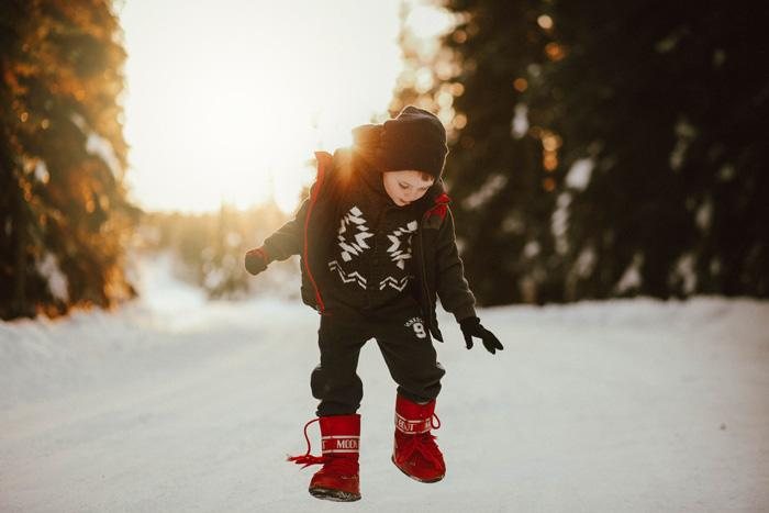 Winter Solstice Playtime - Latitude 64 Photography - Fairbanks Alaska