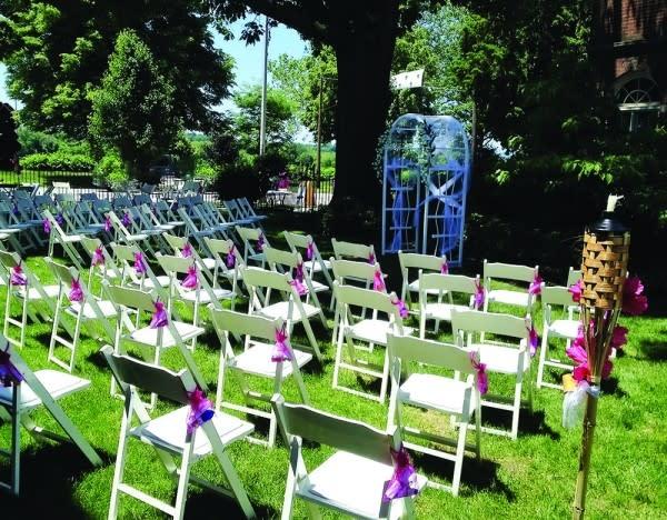 City House B&B Wedding Set-Up 2016