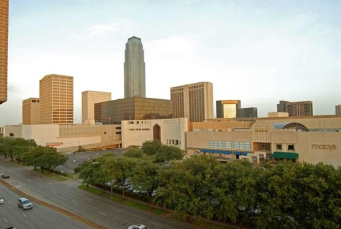 The Galleria Exterior In Houston