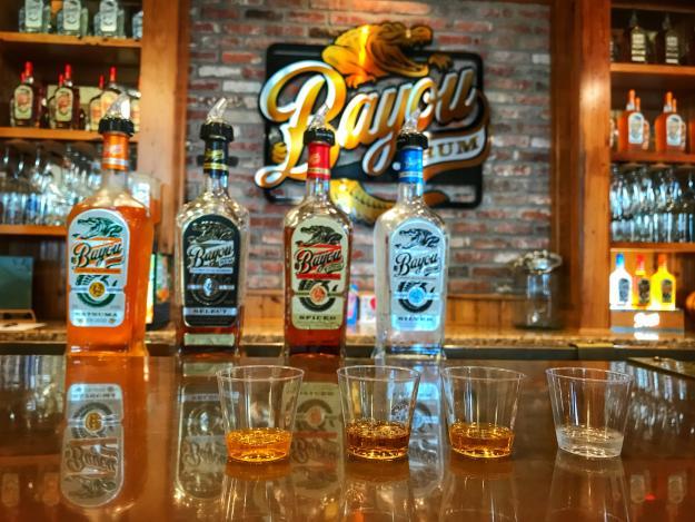Bayou Rum   Rum Flight