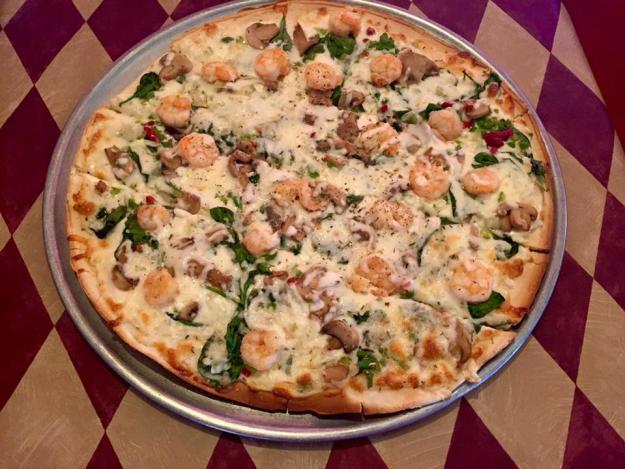 Tony's Pizza | Seafood Pizza
