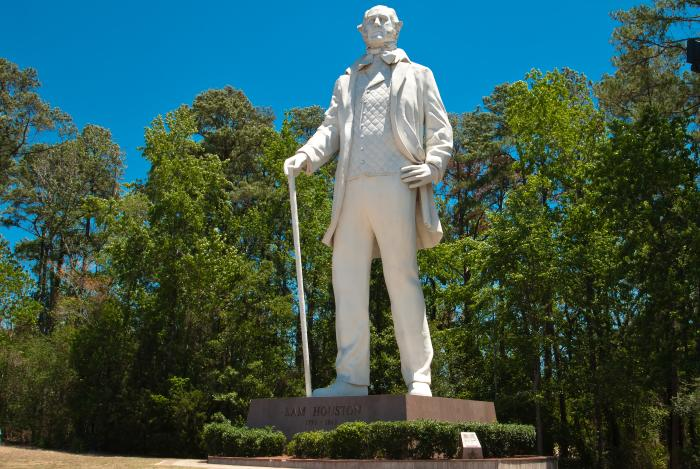 Sam Houston Statue in Huntsville