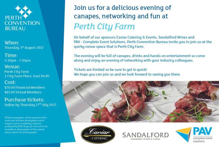 Member Networking Event - Perth City Farm