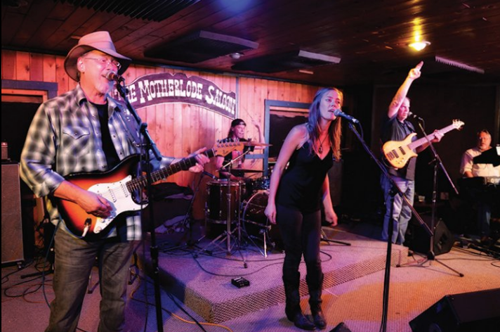 Live country music at the Motherlode Saloon