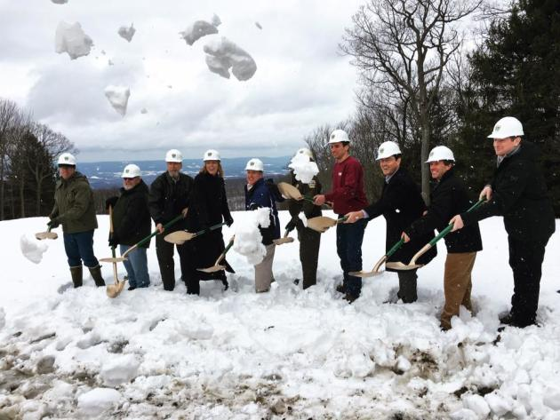 Laurel Mountain Ground Breaking