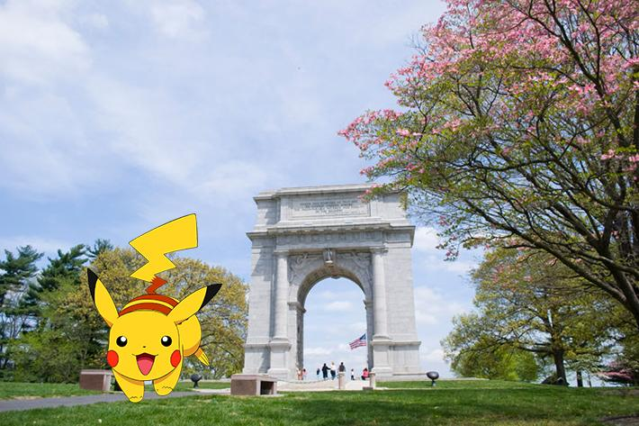 pokemon go arch