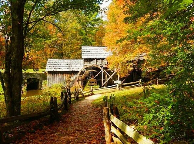 Fall at Mabry Mill - Fall Photo