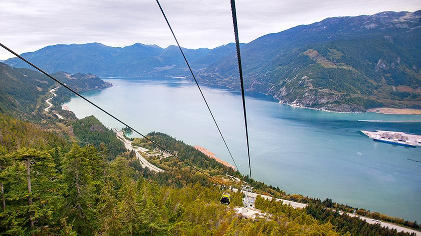 FanGirl Quest: The 100 Sea to Sky Gondola