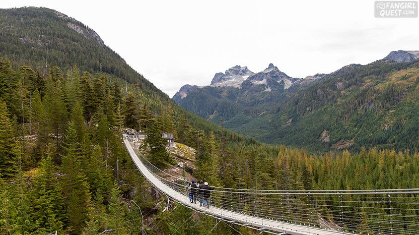 FanGirl Quest: The 100 Sea to Sky Gondola Sky Pilot Bridge