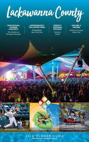 Cover image of 2018 Summer Visitors Guide for Lackawanna County