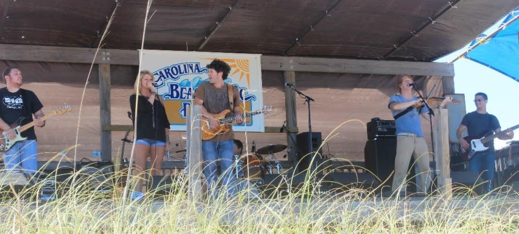 Performers at the Annual Carolina Beach Music Festival