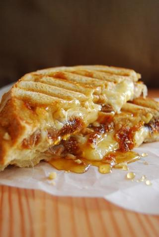 The Ultimate Grilled Cheese and Fig