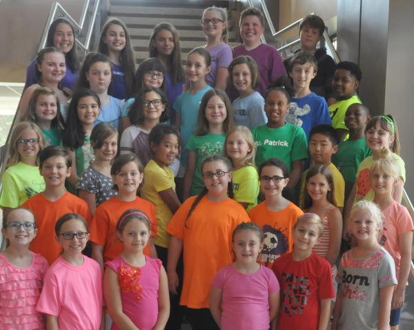 Children's Chorus in Joseph and the Amazing Technicolor Dreamcoat - Fort Wayne, IN