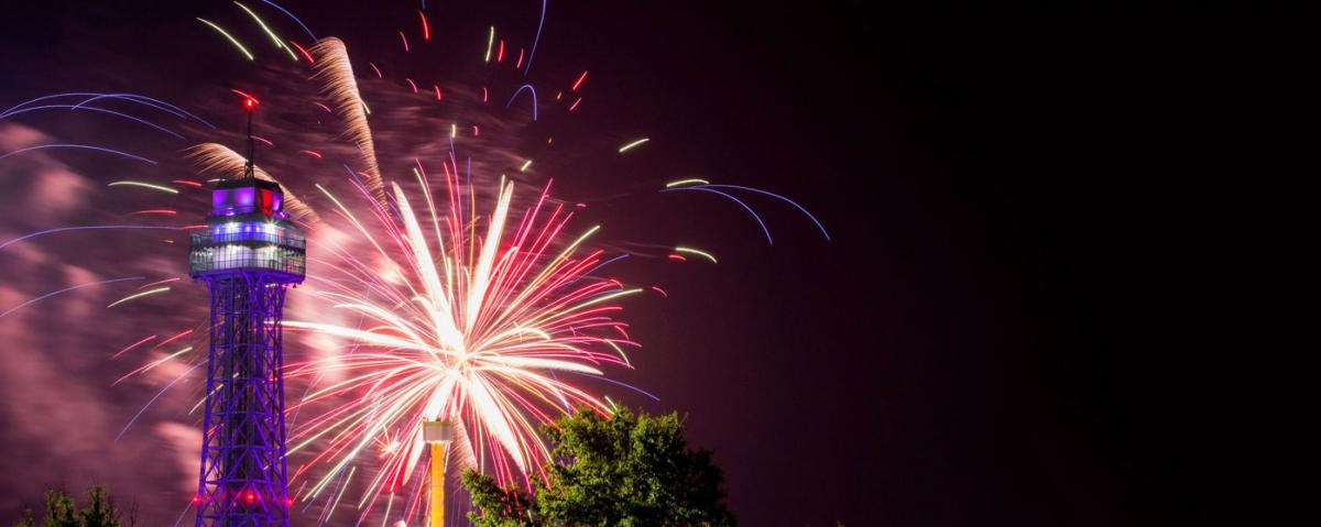 Kings Dominion Memorial Day fireworks