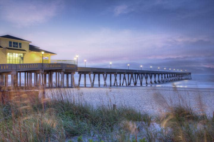 Johnnie Mercer's Pier on Wrightsville Beach