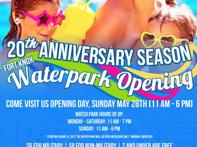 Fort Knox Water Park - Opening Day