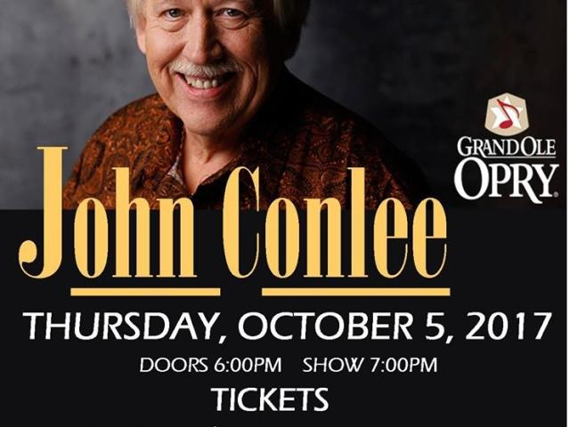 John Conlee at Historic State Theater