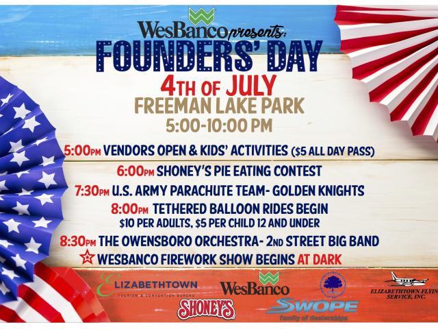 WesBanco's Founders' Day Celebration