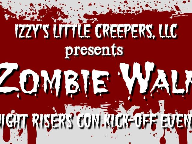 The Zombie Walk - Night Risers Con