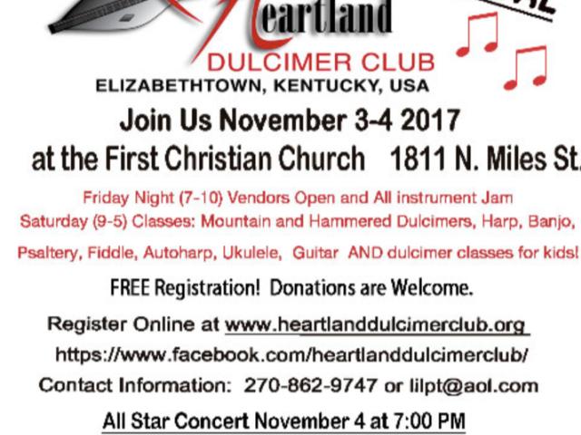 23rd Annual Heartland Dulcimer Club Fest