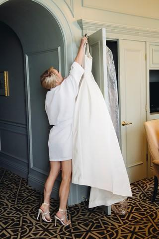 Bride Hanging Dress