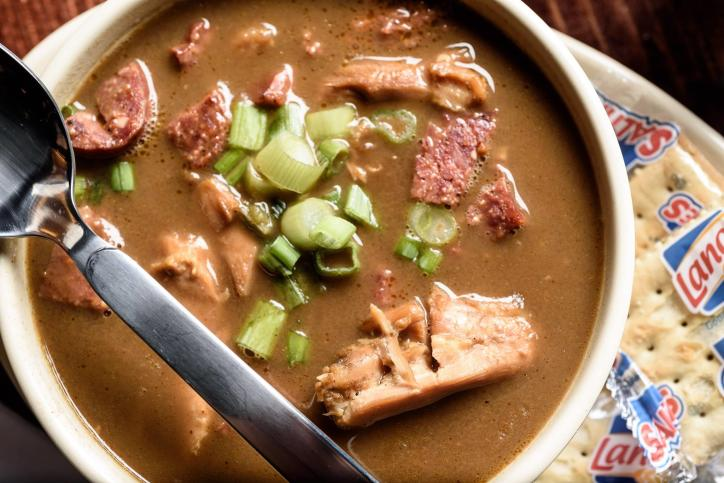 You'll love the flavors of Tia Juanita's gumbo. (Located in Lake Charles, La.)