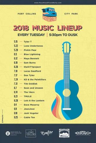 food-truck-music-lineup poster