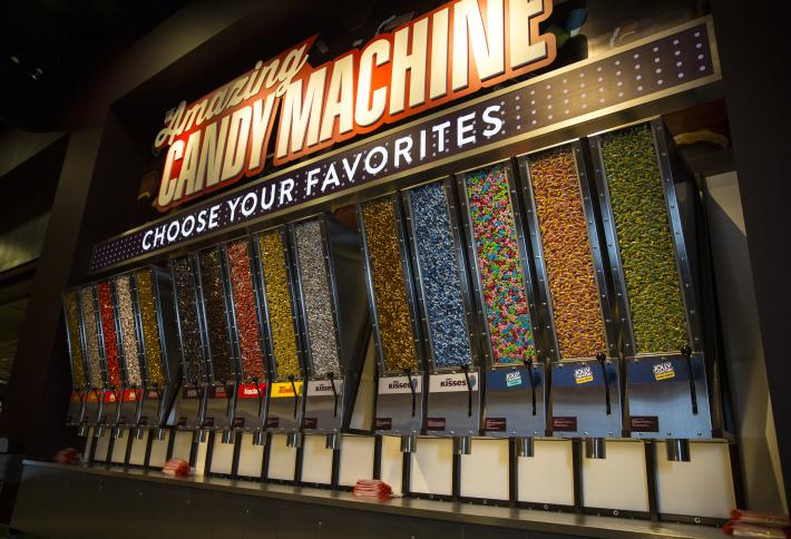 The Amazing Candy Machine