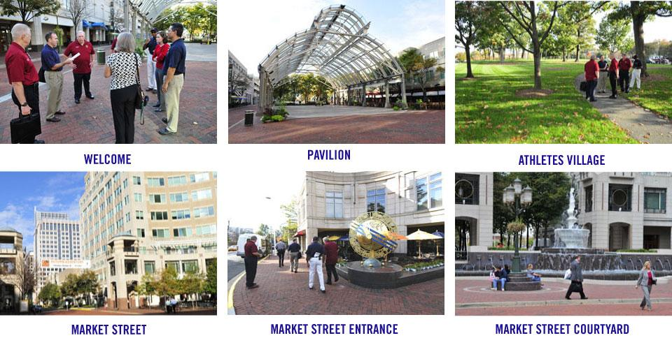 2015 World Police & Fire Games Site Inspection: Reston Town Center Image Gallery