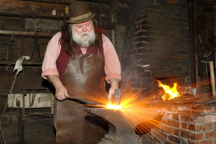 Old Cowtown Museum Blacksmith