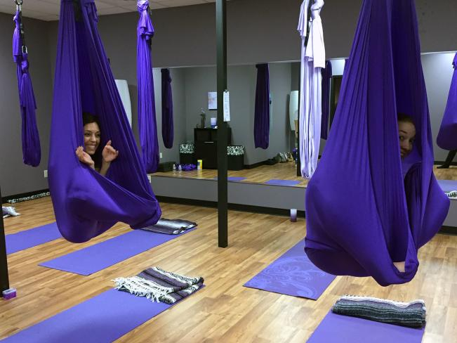 aerial yoga cocoon