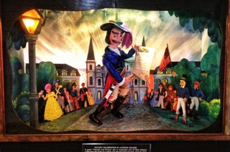 Marionette in Lafitte's Visitor Center