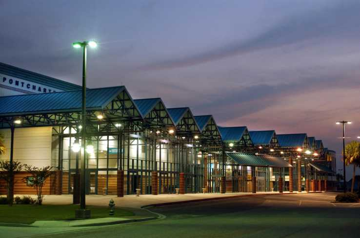 Pontchartrain Center Exterior
