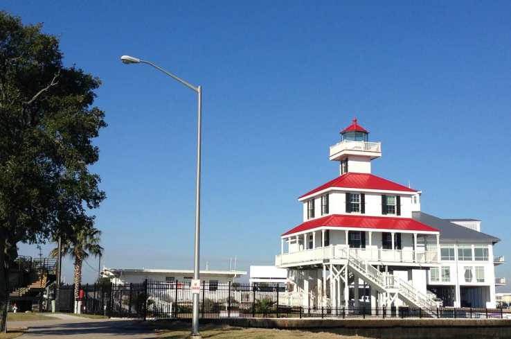 New Canal Lighthouse along Lake Ponbtchartrain