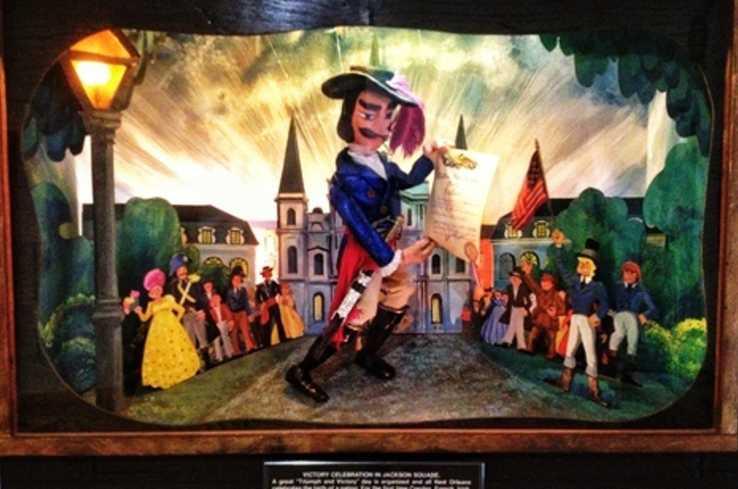Marionette in Lafitte's Visitor Center