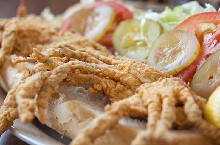 Soft Shell Crab Dish
