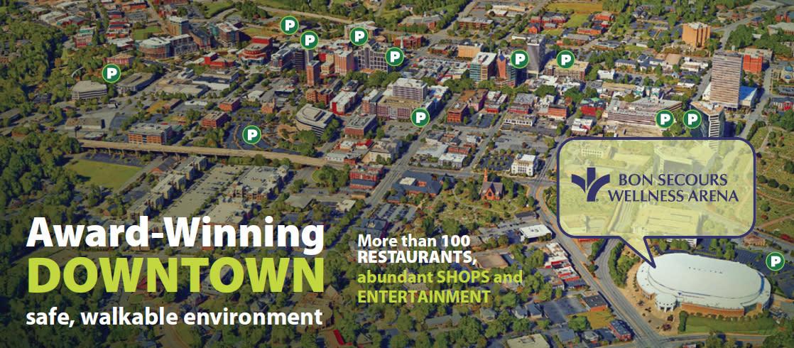 BSWA Parking Map