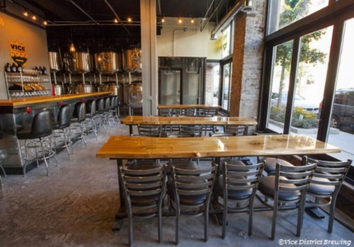 vice district brewing tap room