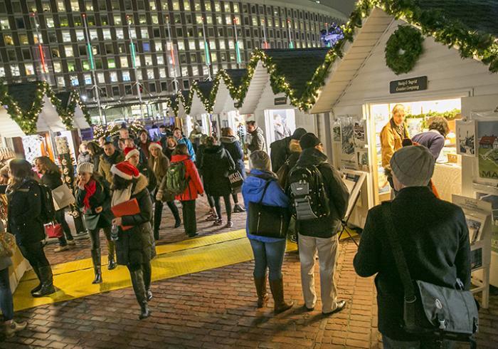 Boston's Holiday Lights Trail, Boston Winter