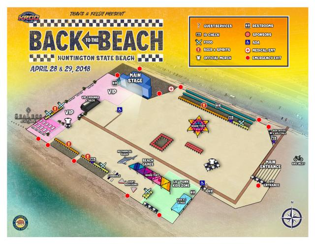 Back to the Beach Map