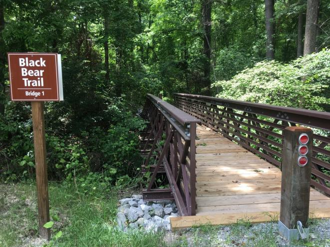 Black Bear Trail Entrance